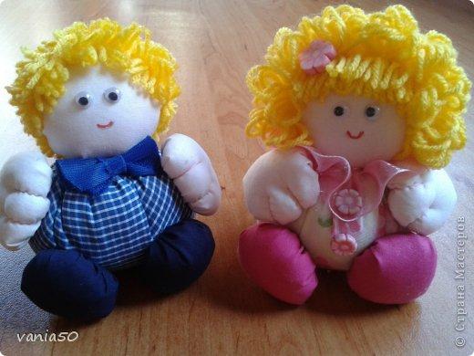 Куклы Шитьё Ароматни кукли пълни с лавандула Ткань фото 1