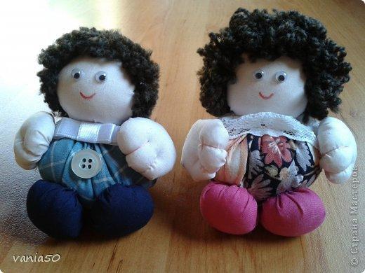 Куклы Шитьё Ароматни кукли пълни с лавандула Ткань фото 2