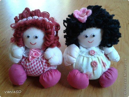 Куклы Шитьё Ароматни кукли пълни с лавандула Ткань фото 5