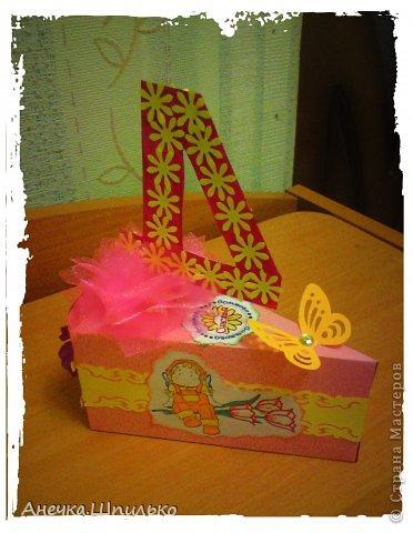 Девочке на 4 годика делали тортик с Зайкой и открыточку в виде кусочка тортика ,а в ней ещё и подарочек. фото 12