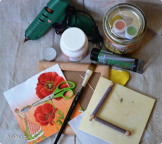Картина панно рисунок Мастер-класс Декупаж Картина настроения в технике sospeso trasparente фото 2