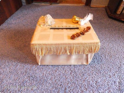 Приветствую всех гостей на своей страничке.  Представляю вам сундучок для денег сделанный впервые, для моей племяшке  к свадьбе.