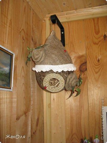 основа-шар из льняных ниток фото 3