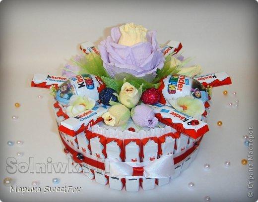 Торт киндер своими руками