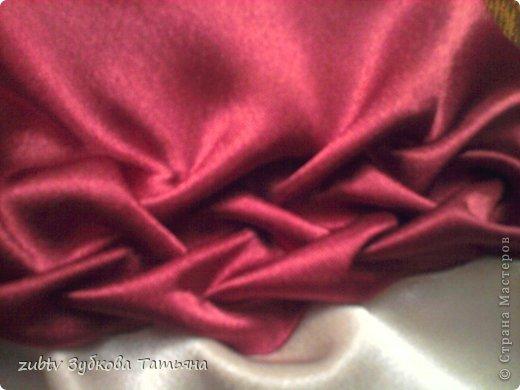 Мастер-класс Шитьё Круглая подушка в стиле буфы Ткань фото 12