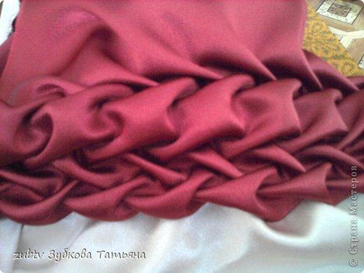 Мастер-класс Шитьё Круглая подушка в стиле буфы Ткань фото 14
