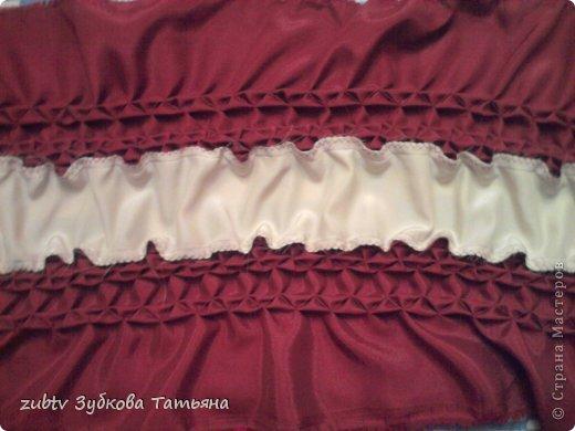Мастер-класс Шитьё Круглая подушка в стиле буфы Ткань фото 15