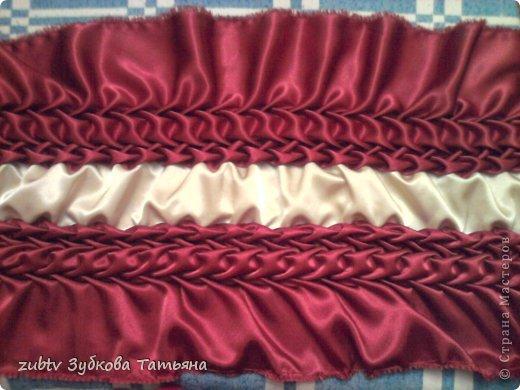 Мастер-класс Шитьё Круглая подушка в стиле буфы Ткань фото 16