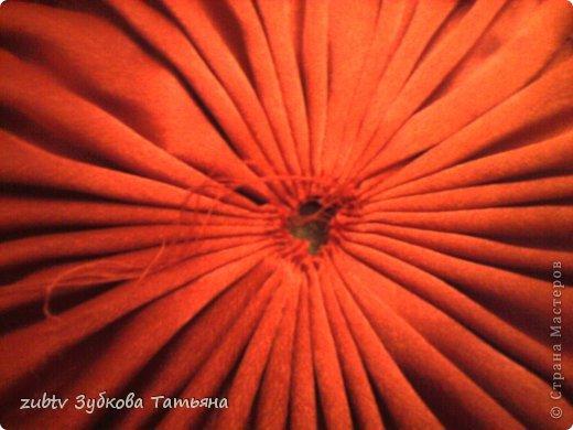 Мастер-класс Шитьё Круглая подушка в стиле буфы Ткань фото 18