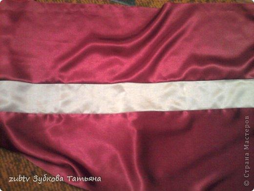 Мастер-класс Шитьё Круглая подушка в стиле буфы Ткань фото 4