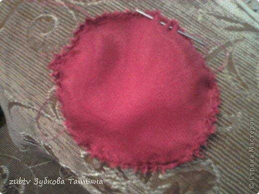 Мастер-класс Шитьё Круглая подушка в стиле буфы Ткань фото 22