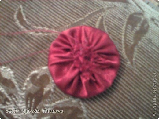 Мастер-класс Шитьё Круглая подушка в стиле буфы Ткань фото 23