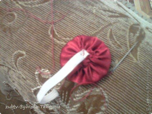 Мастер-класс Шитьё Круглая подушка в стиле буфы Ткань фото 24