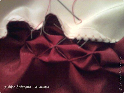 Мастер-класс Шитьё Круглая подушка в стиле буфы Ткань фото 11