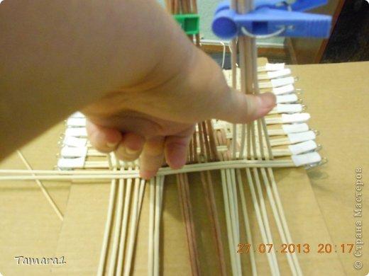 Мастер-класс Плетение Дебют МК крышки Бумага газетная Трубочки бумажные фото 2