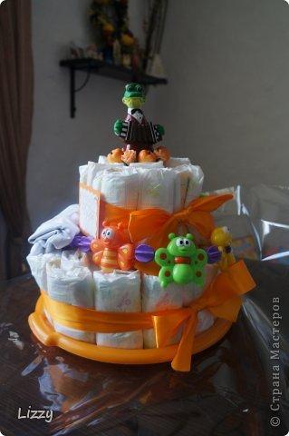 Долго я собиралась с мыслями делать такой торт.. Все думала не получится.. Получилось, но корявенько на мой взгляд.. Прошу строго не судить :) фото 2
