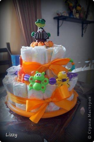 Долго я собиралась с мыслями делать такой торт.. Все думала не получится.. Получилось, но корявенько на мой взгляд.. Прошу строго не судить :) фото 3