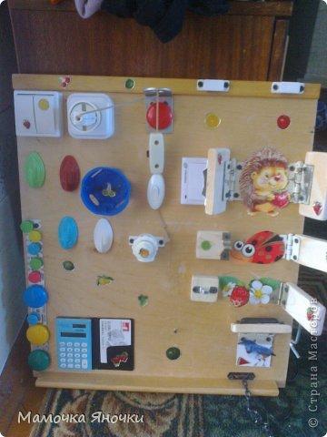 Развивающие стенды для малышей