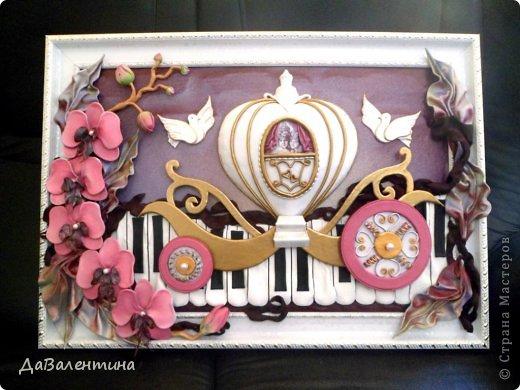 Мастер-класс Свадьба Коллаж Картина из кожи Свадебная Кожа фото 1