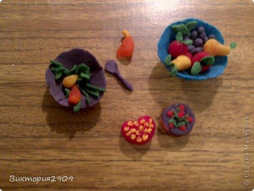 Куклы Кулинария Еда моих куколок = Пластилин фото 6.