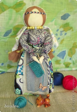 Шитье тряпичных кукол мастер класс  #5