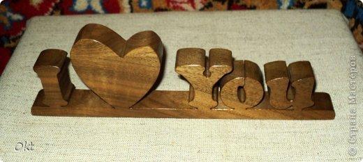 Буквы из дерева, логотипы, имена