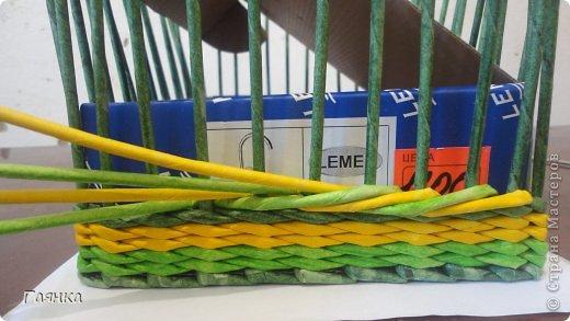 Мастер-класс Плетение Цветная верёвочка из 4 трубочек Бумага фото 5
