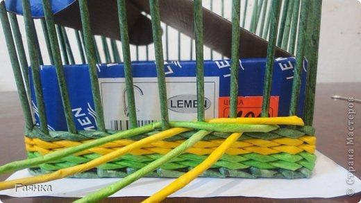 Мастер-класс Плетение Цветная верёвочка из 4 трубочек Бумага фото 11