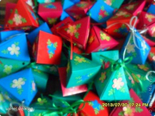 Мне предложили на свадьбу для конфет сделать бонбоньерки в количестве 70 шт. И я их сделала за 3 дня. фото 6