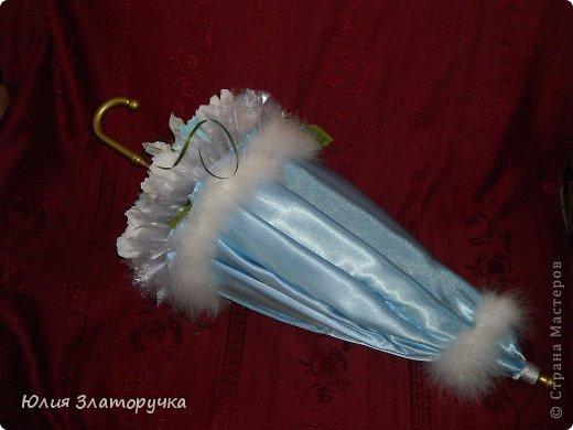 насмотрелась я в СМ зонтов,и решилась на своё исполнение. Прошу любить и жаловать!))) фото 8