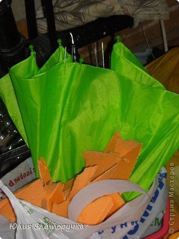 насмотрелась я в СМ зонтов,и решилась на своё исполнение. Прошу любить и жаловать!))) фото 2