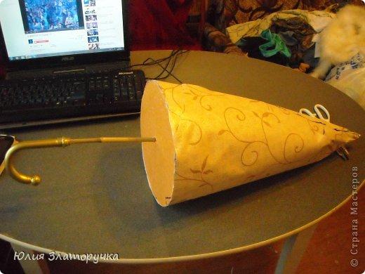 насмотрелась я в СМ зонтов,и решилась на своё исполнение. Прошу любить и жаловать!))) фото 4