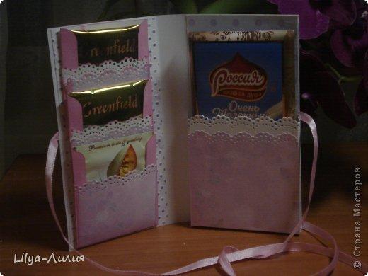Мои первые шоколадницы. Прошу строго не судить за качество фото, т.к. поздно вечером фотала. А завтра они будут подарены двум замечательным девушкам. фото 4