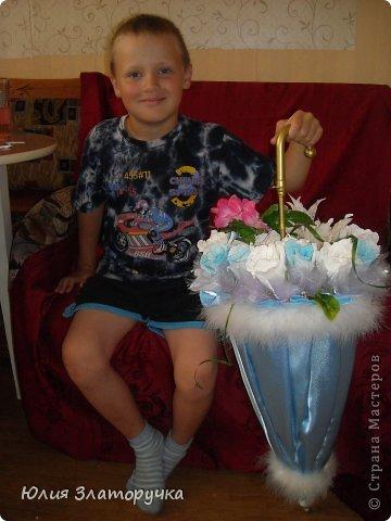 насмотрелась я в СМ зонтов,и решилась на своё исполнение. Прошу любить и жаловать!))) фото 9