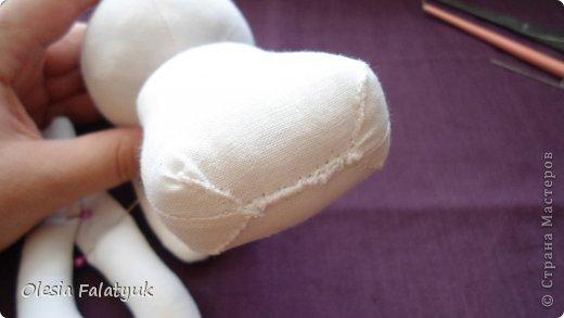 Куклы Мастер-класс Шитьё Как я сшила куклу тыковку Можно сказать МК Ткань фото 12