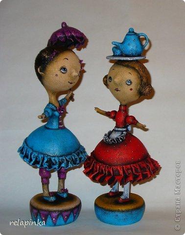 Куклы 1 апреля Папье-маше Пенни опять балуется  Бумага фото 10
