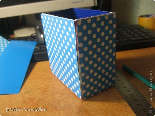 Органайзер из чайной коробки фото 6