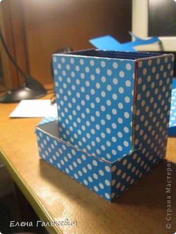 Органайзер из чайной коробки фото 7