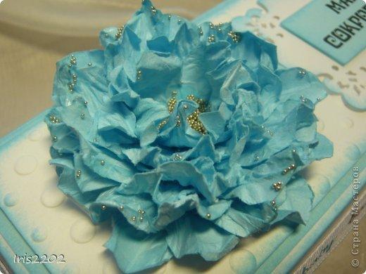 Мастер-класс Поделка изделие Скрапбукинг 8 марта День матери День рождения Ароматный цветок своими руками  Бисер Бумага Клей фото 1