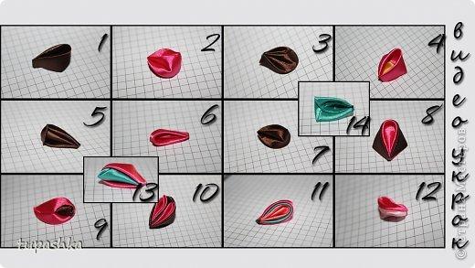 Видео Мастер-класс Цумами Канзаши Виды Круглых Лепестков Канзаши Ткань