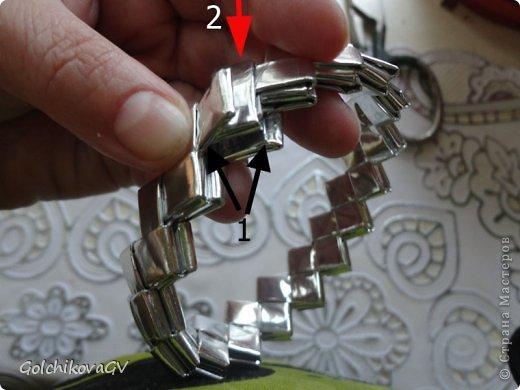 Эти обручи были сделаны для выступления индианок.  Они сделаны в той же технике, что и сундучок: http://stranamasterov.ru/node/204366,  и вазочка: http://stranamasterov.ru/node/202906. Попросили объяснить технику,  поэтому и создала МК. Может и еще кому-нибудь пригодится. фото 21
