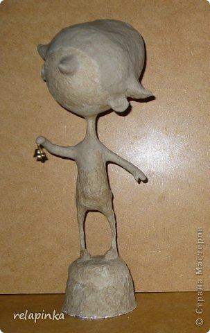 Папье-маше фигурка Яша фото 23