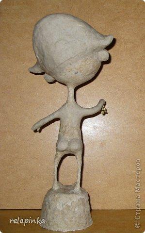 Папье-маше фигурка Яша фото 25