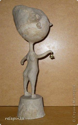 Папье-маше фигурка Яша фото 28