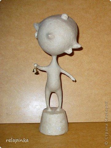 Папье-маше фигурка Яша фото 36