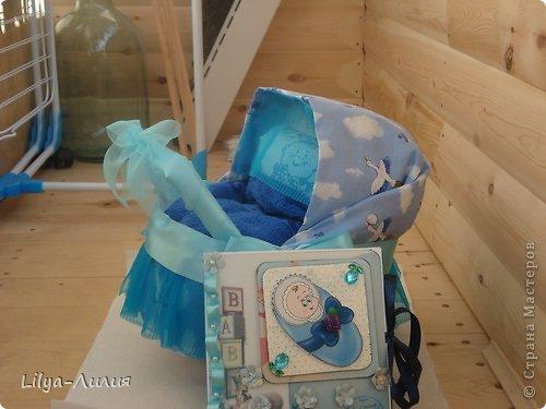 Открытка Аппликация Моделирование конструирование Подарок для новорожденного и его мамы Бумага фото 4