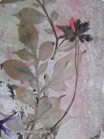 Давайте сделаем вместе картину из растений фото 14