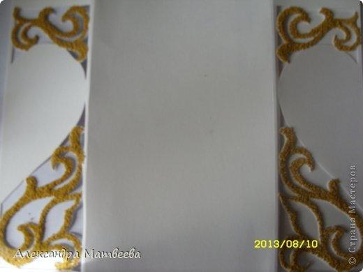 Мастер-класс Открытка Скрапбукинг Свадьба Моделирование конструирование Открытка свадебная в коробочке Бумага Бусинки Ленты фото 8