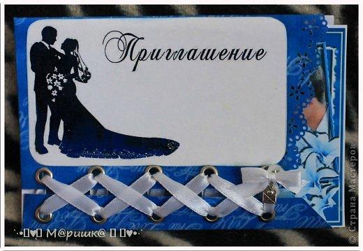 Подготовка к свадьбе началась с пригласительных :) фото 5