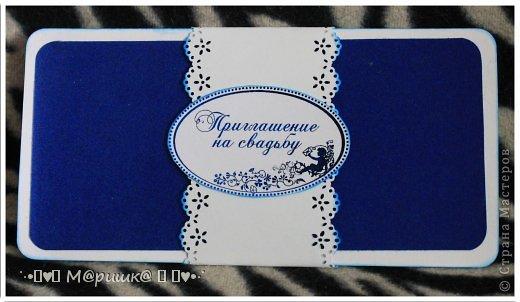 Подготовка к свадьбе началась с пригласительных :) фото 1